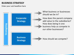 Business strategy PPT slide 11