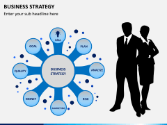 Business strategy PPT slide 2