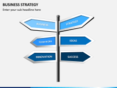Business strategy PPT slide 9