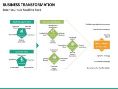 Business transformation PPT slide 36