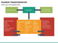 Business transformation PPT slide 41