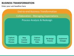 Business transformation PPT slide 42