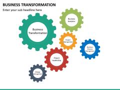 Business transformation PPT slide 44