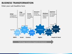Business transformation PPT slide 16
