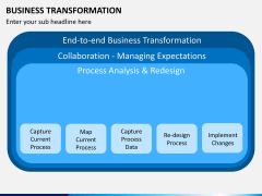 Business transformation PPT slide 20
