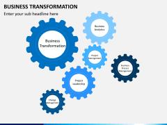 Business transformation PPT slide 22