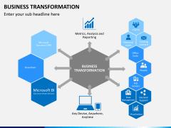 Business transformation PPT slide 6