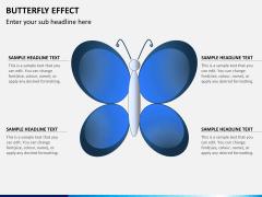 Butterfly effect PPT slide 1