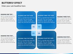 Butterfly effect PPT slide 4