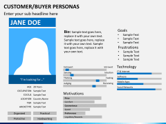 Buyer personas PPT slide 3