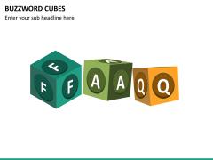 Buzzword cubes PPT slide 11
