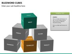 Buzzword cubes PPT slide 13