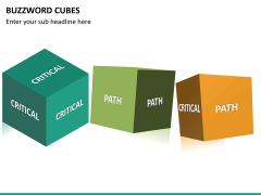 Buzzword cubes PPT slide 17