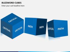 Buzzword cubes PPT slide 8