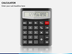 Calculator PPT slide 1