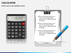 Calculator PPT slide 3