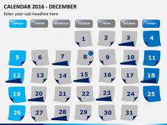 Calendar 2016 PPT slide 12