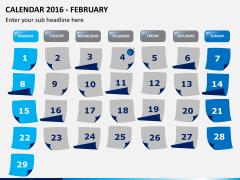 Calendar 2016 PPT slide 2