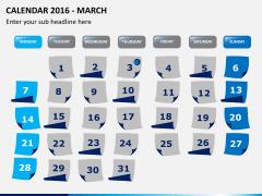 Calendar 2016 PPT slide 3
