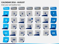 Calendar 2016 PPT slide 8