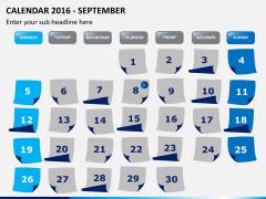 Calendar 2016 PPT slide 9
