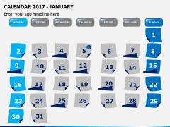 Calendar 2017 PPT slide 1