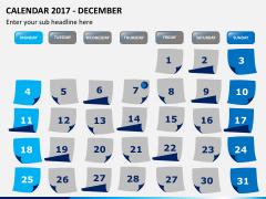 Calendar 2017 PPT slide 12