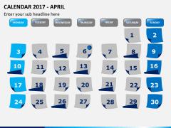 Calendar 2017 PPT slide 4