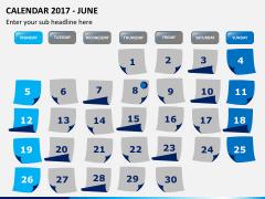 Calendar 2017 PPT slide 6