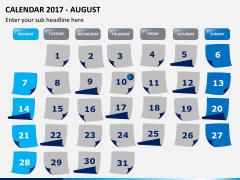 Calendar 2017 PPT slide 8
