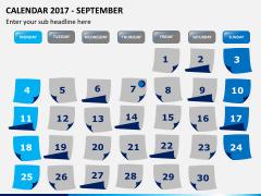 Calendar 2017 PPT slide 9