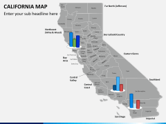 California map PPT slide 12