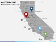 California map PPT slide 6