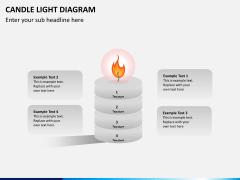 Candle light PPT slide 3