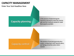 Capacity Management PPT slide 20