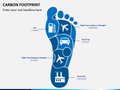 Carbon footprint PPT slide 6
