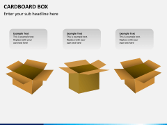 Cardboard box PPT slide 3