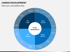 Career development PPT slide 1