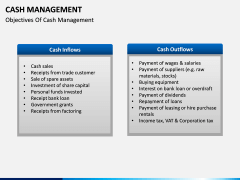 Cash Management PPT slide 8