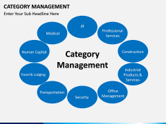 Category Management PPT slide 1