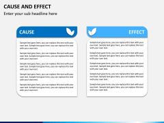 Cause and Effect Diagram PPT Slide 1