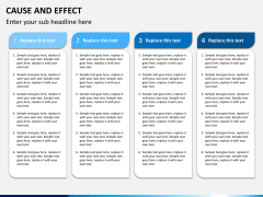 Cause and effect bundle PPT slide 3