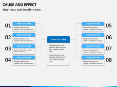 Cause and effect bundle PPT slide 6