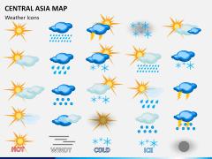 Central Asia Map PPT slide 18