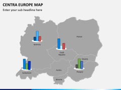 Central europe map PPT slide 14