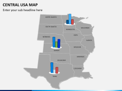 Central usa map PPT slide 13