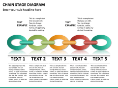 Chain stage diagram PPT slide 9