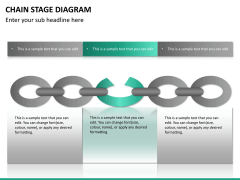 Chain stage diagram PPT slide 12
