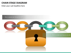 Chain stage diagram PPT slide 14