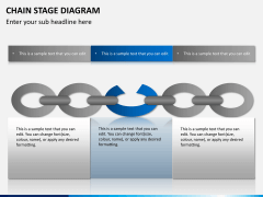 Chain stage diagram PPT slide 4